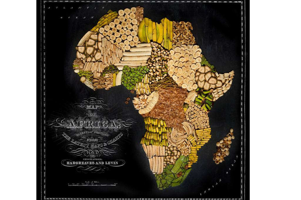 Food maps of the world