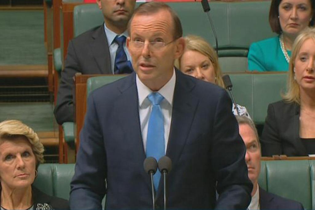 On March 20, Australian Prime Minister Tony Abbott told his parliament that objects had been spotted in waters hundreds of kilometres off the western Australian coast. Further searches, by Australian, New Zealand and US planes, were needed to find out if they were part of the missing plane.