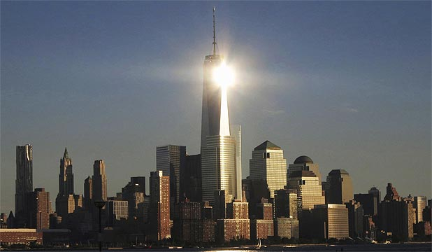 AMERICA'S TALLEST: One World Trade Centre.
