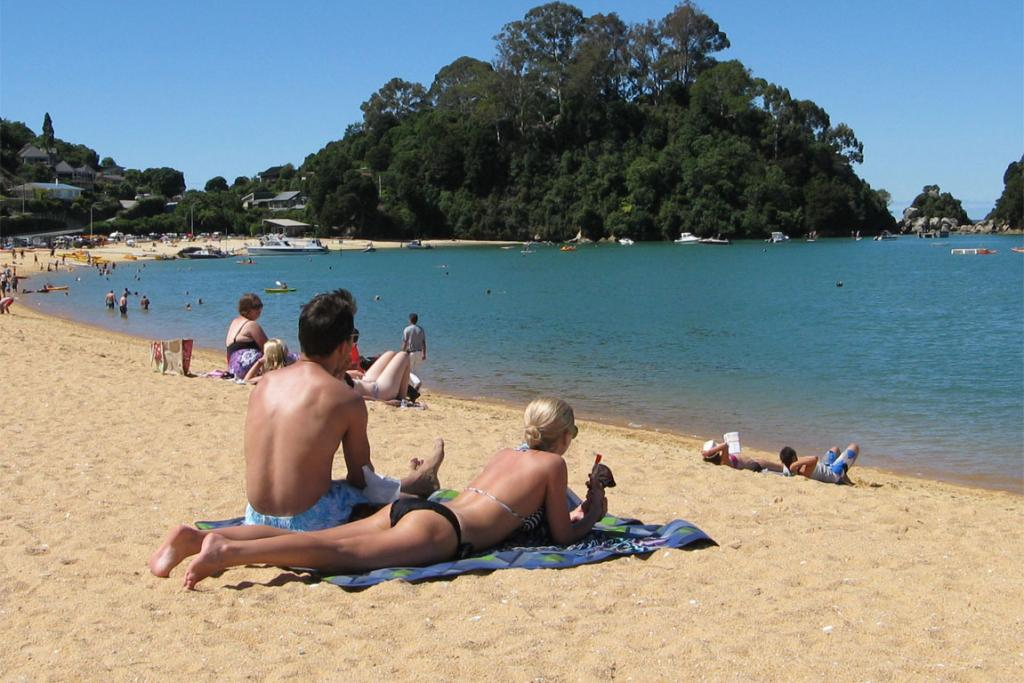 Tripadvisor's top NZ beaches 2014 Kaiteriteri