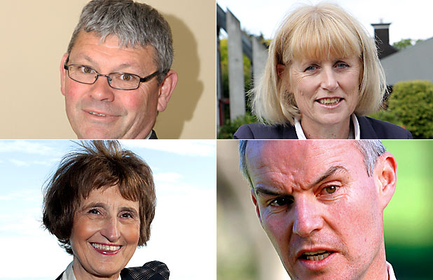 David Adamson, Mary Richardson,  Brendan Anstiss, and Jane Parfitt.