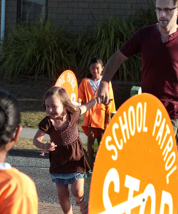 Rototuna Primary School crossing