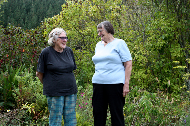 Longtime Rai Valley residents Faye Stratford and Elizabeth Della Bosca