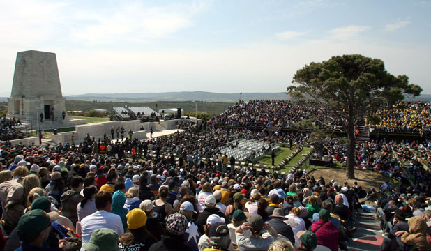 MORE EVENTS: Another ceremony will be held at Lone Pine at Gallipoli in August 2015.