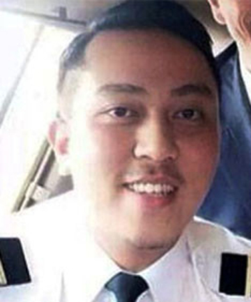 MH370 CO-PILOT: First Officer Fariq Abdul Hamid.