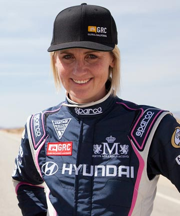 KIWI FIRST: Emma Gilmour is to join Rhys Millen Racing as the first female driver in the Global Rallycross Championship series.