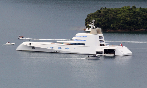 Superyacht 'A'