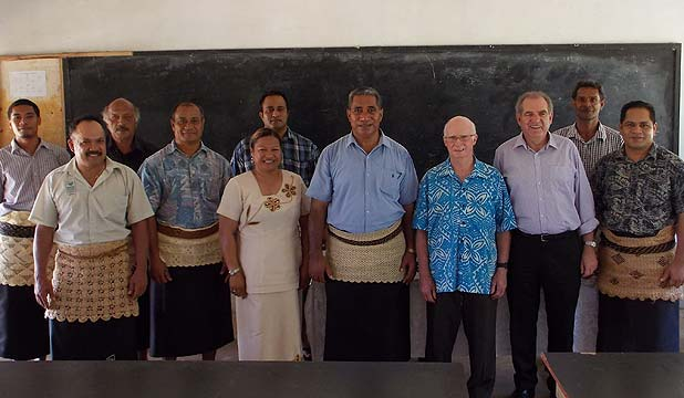FURTHERING EDUCATION: The Manukau Institute of Technology has teamed up with schools in Tonga and Samoa to help encourage disengaged students stay longer in school.