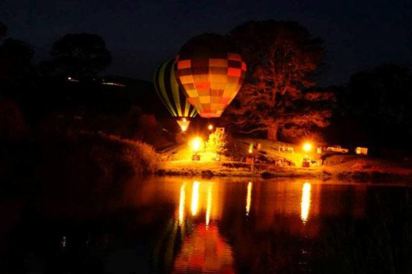Balloons Over Hobbiton