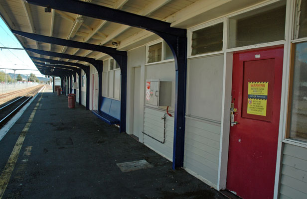 LOOKING TIRED: Upper Hutt Railway Station is finally likely to get a spruce up.