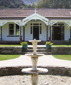 Furneaux Lodge was built in the 1900s