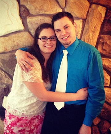 ONCE HAPPY COUPLE: Jordan Graham has agreed to plead guilty to second-degree murder. Prosecutors said she pushed her new husband, Cody Johnson, to his death.