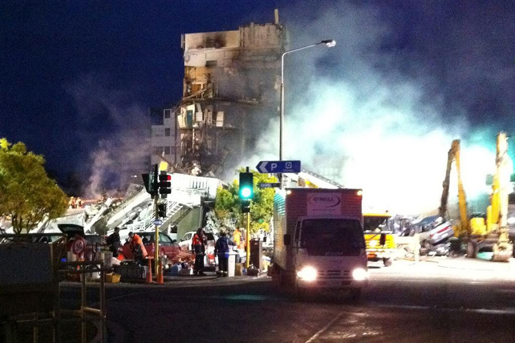 Christchurch's CTV building collapsed in February 2011 following a magnitude 6.3 earthquake.