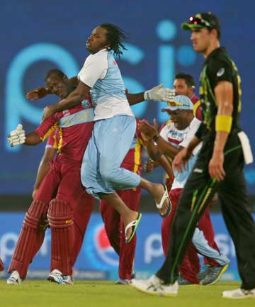 Darren Sammy and Chris Gayle