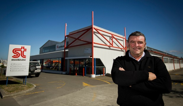 Manawatu Mail Centre leader Rob Fryer