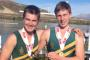 Sean Ducray, left, and fellow Waimea College rower Sam Johnston