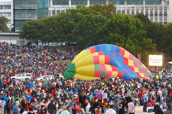 DAY FOUR: Organisers' estimates put the crowd at around 80,000.