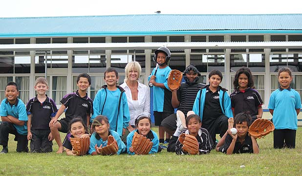 Children at Te Kura O Otangarei