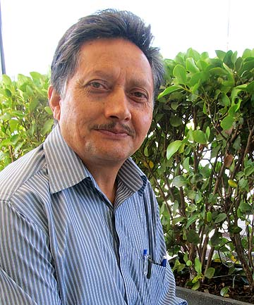 CHANGES AHEAD: Veer Khar is planning a shake-up of the Manukau Indian Association.