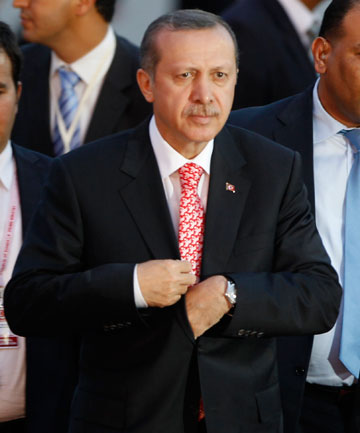 TOUGH TIMES: Turkish Prime Minister Tayyip Erdogan.