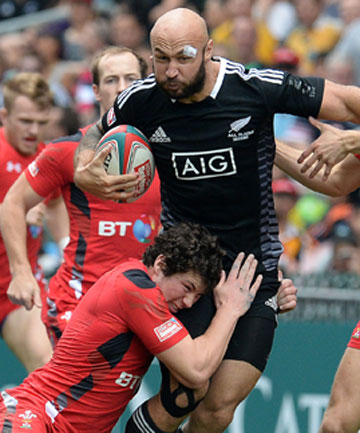 UNSTOPPABLE: DJ Forbes has been inspirational in leading New Zealand to the IRB Sevens World Series summit.