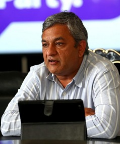 Internet Party chief executive Vikram Kumar
