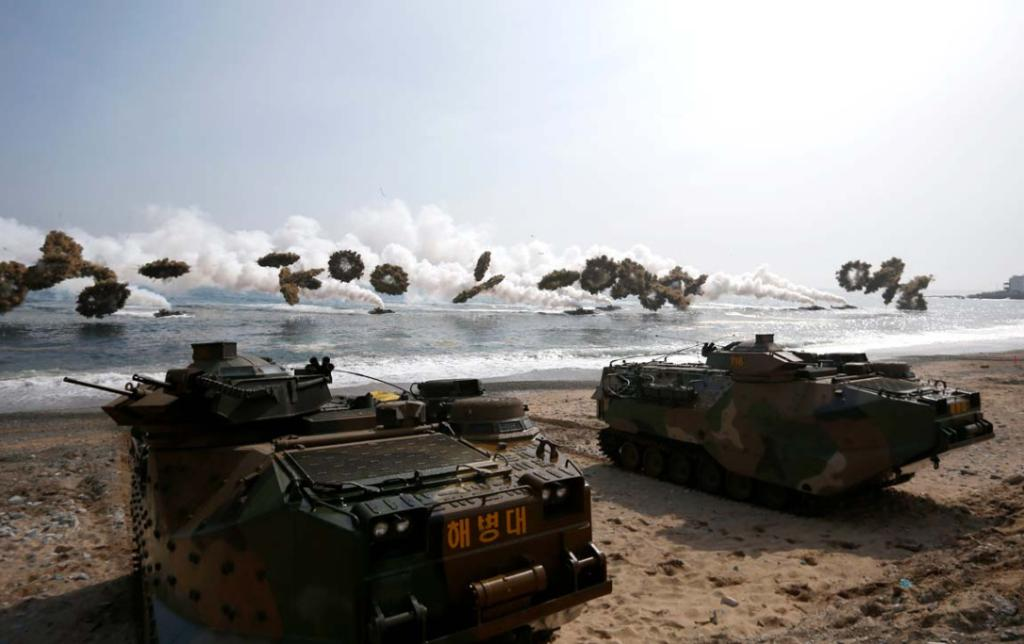 South Korea military drill