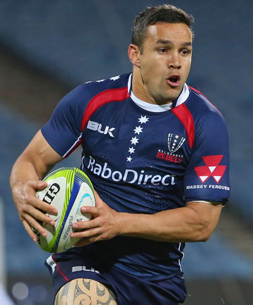 KEEN TO COME HOME: Tamati Ellison hopes he'll be allowed to play for a New Zealand Super Rugby franchise next season.