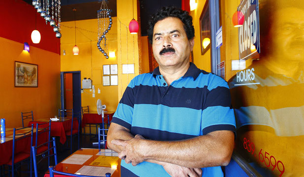 ENOUGH: Ramesh Chand and his wife fear for their safety every time they open for business and close for the night.