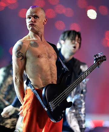 MEMOIR IN THE WORKS: The Red Hot Chili Peppers' Flea