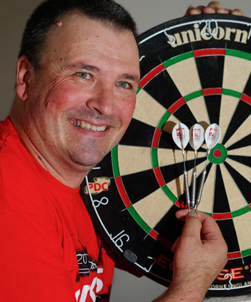 DARTS MAN: Rob Szabo hopes to turn his sport into more than just a pub game in New Zealand.