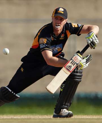 FINAL-BOUND: Opening batsman Michael Pollard scored 70 as Wellington cruised in their chase, beating Canterbury by eight wickets to reach the one-day cricket final against Northern Districts.