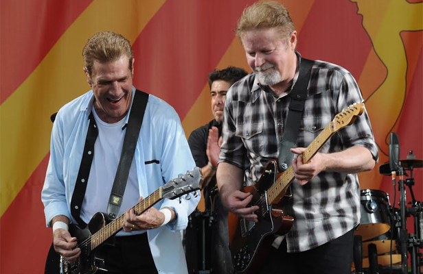 The Eagles' Glenn Frey and Don Henley