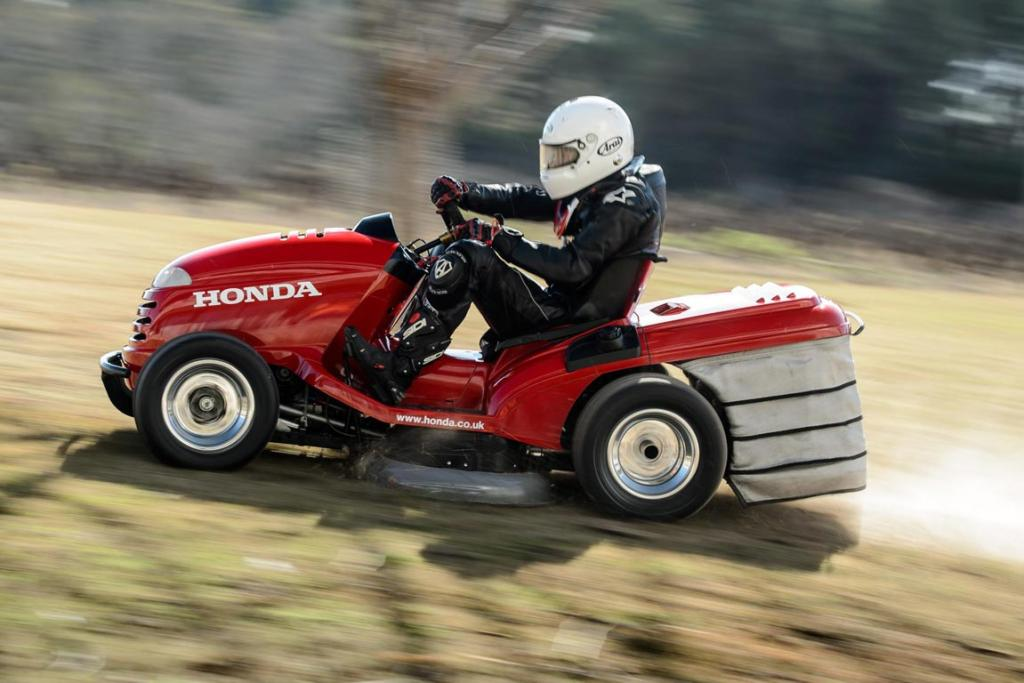 Honda's 'Mean Mower'