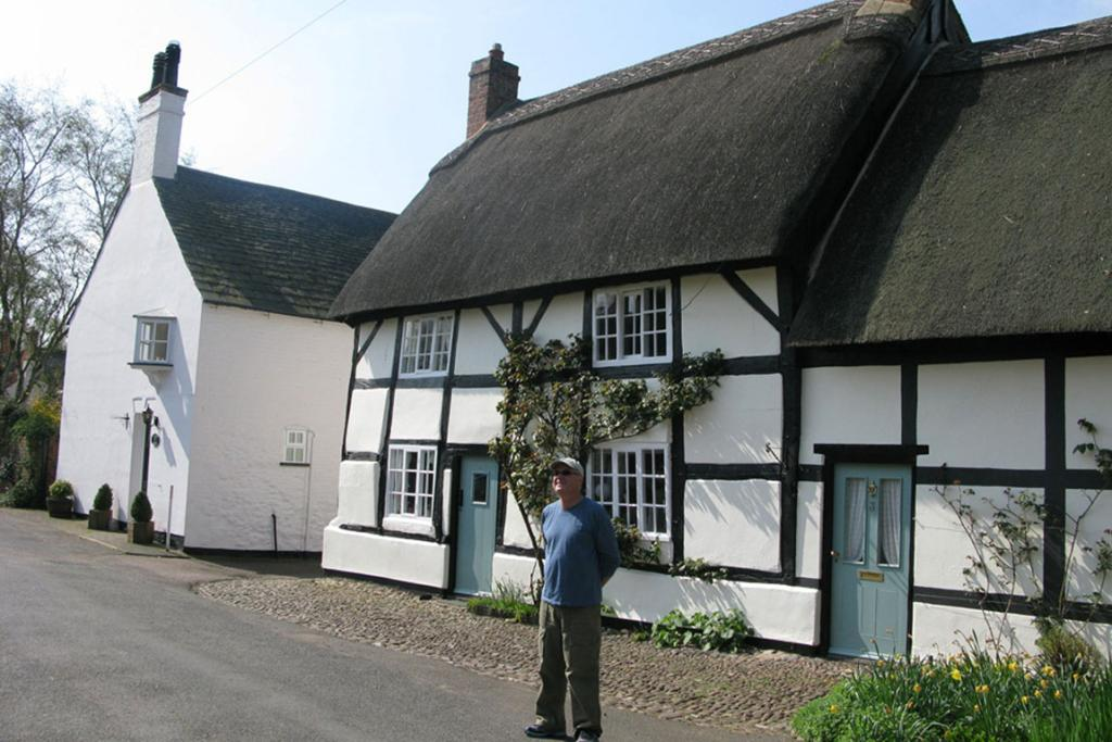Brian Cross at Frisby-on-the-Wreak, Leicestershire.