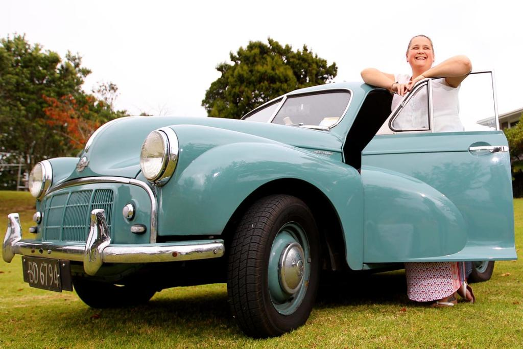 Marie Hunneyball's 1952 Morris Minor.