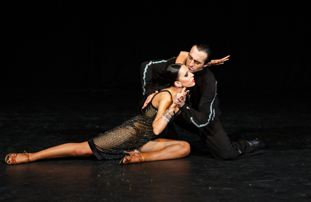 "IT TAKES TWO: Margarita Taryan and Erik Petrosyan share ""an unconditional love"" for dance."