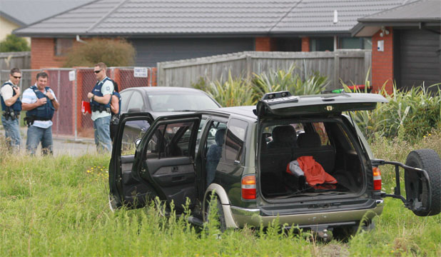 Christchurch police chase
