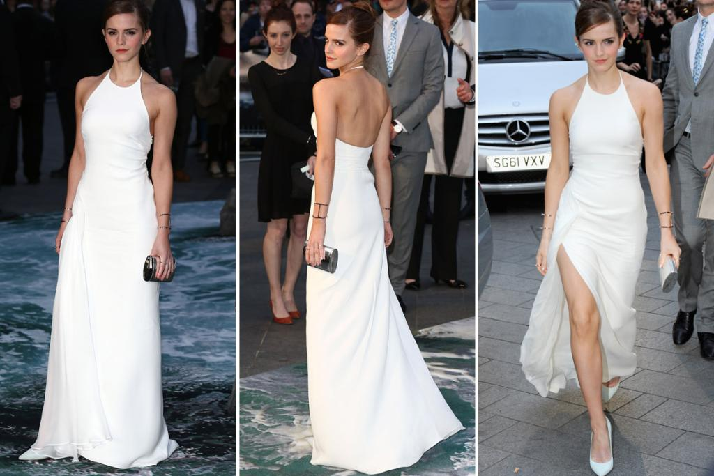 "THE GOOD: Emma Watson manages to give a simple white halter neck gown wow factor - this one's by Ralph Lauren - I call that she'll continue to be a style star and will one day be the Helen Mirren of her time. Unless life throws her some really unexpected curveballs <a href=""http://thumbs.dreamstime.com/z/pamela-anderson-charo-singer-comedy-central-s-roast-sony-studios-culver-city-august-culver-city-ca-paul-smith-34830475.jpg"" target=""_blank"">and she becomes the Charo of the 2060s.</a>"