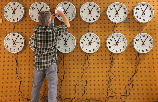 THAT TIME AGAIN: Daylight saving officially ends at 3am on Sunday.