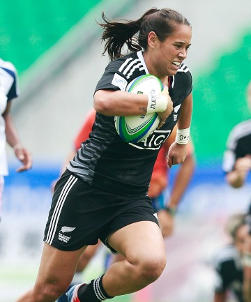 Kayla Mcalister of New Zealand.