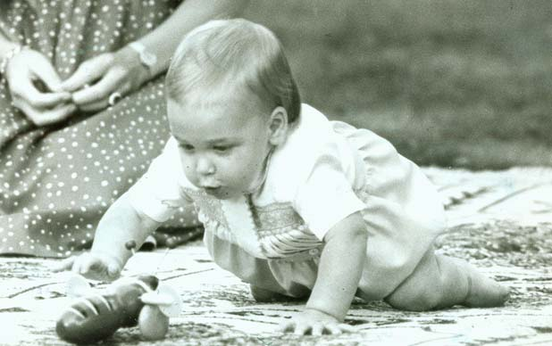 Baby Prince William