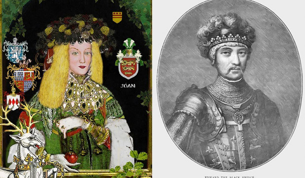 The Fair Maid of Kent found her true love at 12, married a man she didn't at 13 and ended up with her cousin.