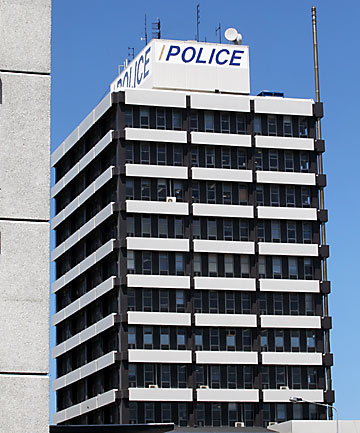 Hereford St police station