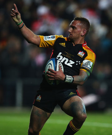 BIG LOSS: The Chiefs should learn a lot about the strength of their squad while Aaron Cruden is on the sidelines recovering from injury.