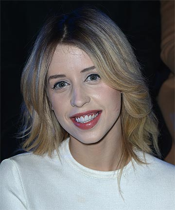 PEACHES GELDOF: The second daughter of musician Bob Geldof and writer and television presenter Paula Yates.
