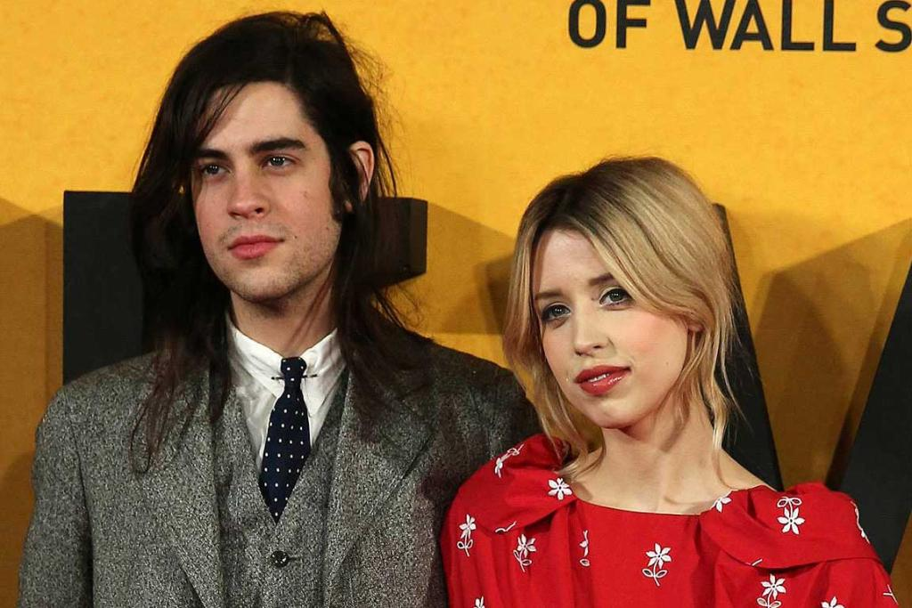Peaches Geldof and husband Thomas Cohen arrive for the UK premiere of The Wolf of Wall Street in January.