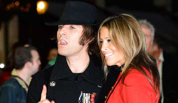 SEPARATE WAYS: Liam Gallagher and Nicole Appleton