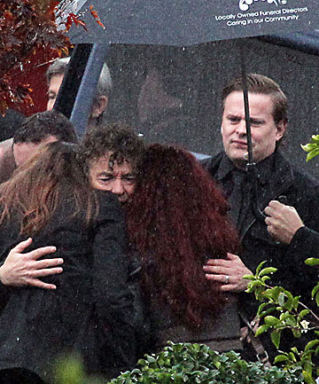 Amy Farrall funeral