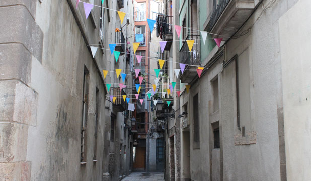 GET LOST: This alleyway in Seville, Spain, is off the beaten track but a treasured memory.